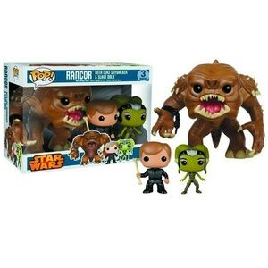 Star Wars Rancor Luke Skywalker & Slave Oola Vinyl